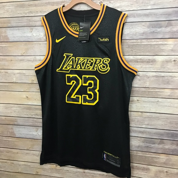 official photos facc7 bcef7 🏀💛 Los Angeles Lakers Lebron James jersey Black NWT